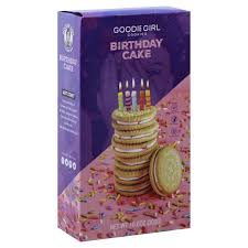 Goodie Girl Birthday Cake Cookies 10.25 oz.