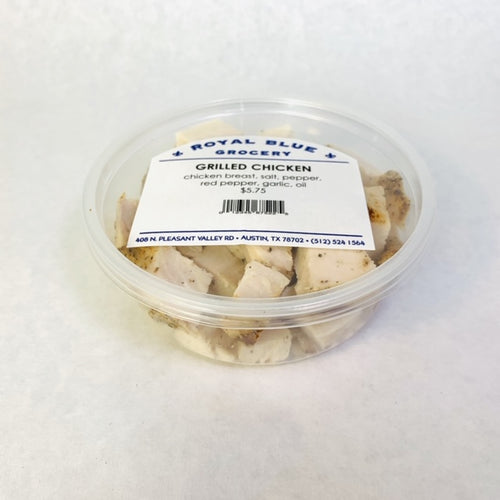 Royal Blue Kitchen Grilled Chicken Diced • 8 oz. & 16 oz.