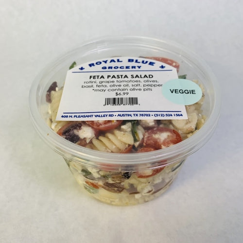 Royal Blue Kitchen Feta Pasta Salad- Multiple Sizes Available!