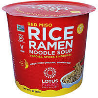 Lotus Foods Rice Ramen Noodle Soup - Red Miso
