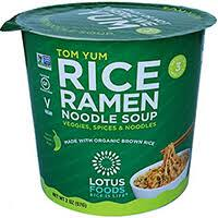 Lotus Foods Rice Ramen Noodle Soup - Tom Yum