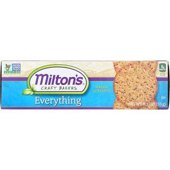 Milton's Everything Crackers 6.7 oz.