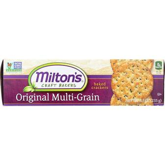 Milton's Original Multi-Grain Crackers 6.7 oz.