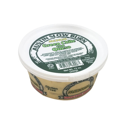 Austin Slow Burn Medium Queso 12 oz