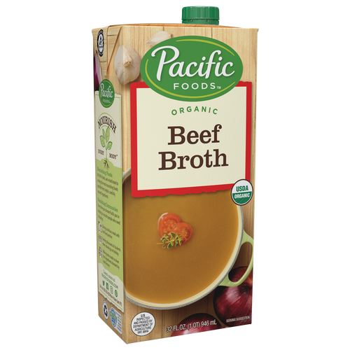 Pacific Natural Organic Beef Broth 32 oz