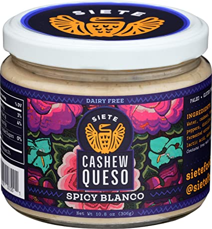 Siete Spicy Blanco Cashew Queso 10.8 oz
