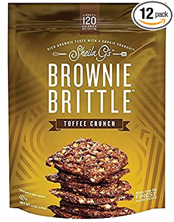 Sheila G's Brownie Brittle Toffee Crunch 5 oz
