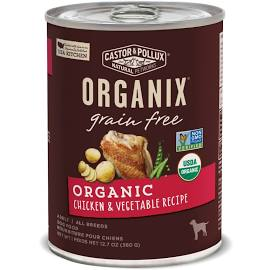 Castor & Pollux Grain Free Dog Food 12.07 oz can