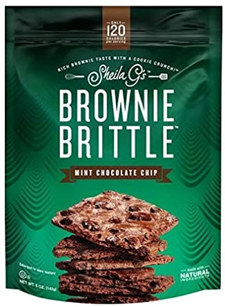 Sheila G's Brownie Brittle Mint Chocolate Chip 5 oz