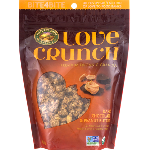 Nature's Path Love Crunch Dark Chocolate & Peanut Butter Granola 11 oz