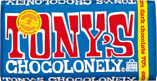 Tony's Chocolonely 70% Dark Chocolate 6.35 oz