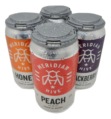 Meridian Hive Mixed Pack Cider 4-pack 12 oz cans