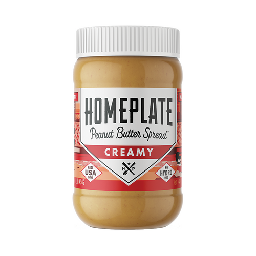 Homeplate Creamy Peanut Butter 16 oz