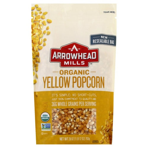 Arrowhead Yellow Popcorn Kernels 28 oz
