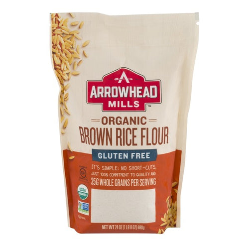Arrowhead Mills Organic Brown Rice Flour 24 oz