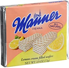 Manner Lemon Wafer 2.65 oz