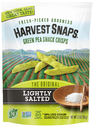 Harvest Snaps Lightly Salted 3.3 oz