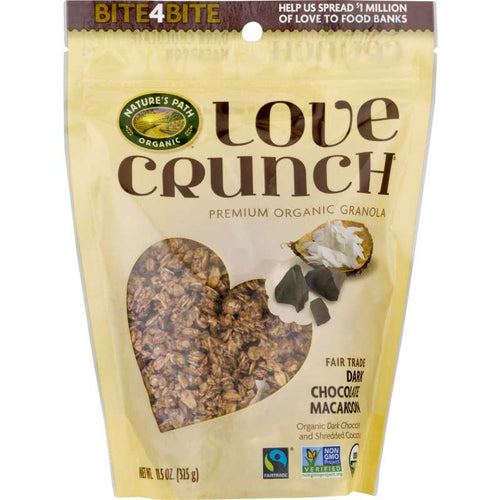 Nature's Path Love Crunch Dark Chocolate Macadamia Granola 11 oz