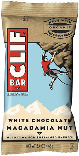 Clif Bar White Chocolate Macadamia 2.4 oz