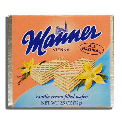 Manner Vanilla Wafer 2.65 oz