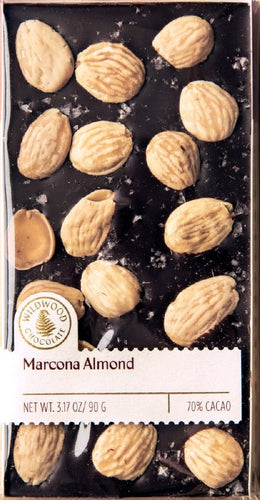 Wildwood Chocolate Marcona Almond 3.17 oz