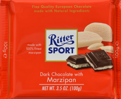 Ritter Sport Dark Chocolate Marzipan 3.5 oz