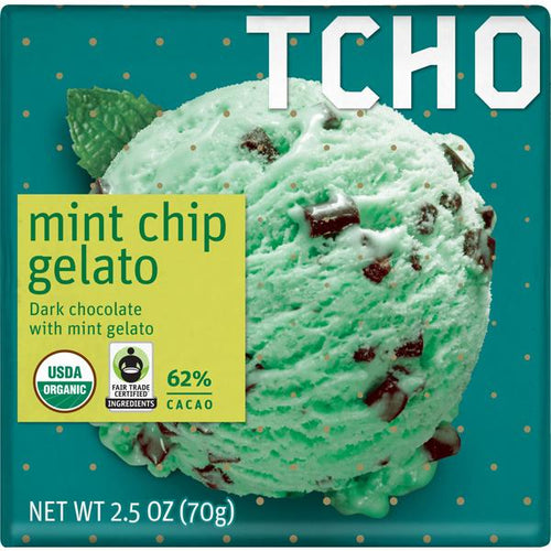 Tcho Gelato Mint Chip 2.5 oz