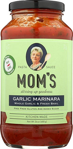 Mom's Garlic Marinara 24 oz