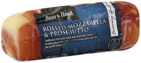 Boar's Head Rolled Mozzarella & Prosciutto 8 oz