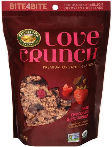Nature's Path Love Crunch Dark Chocolate & Red Berries Granola 11 oz