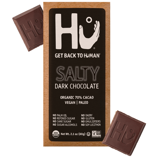 Hu Chocolate Salty Dark Chocolate 2.1 oz