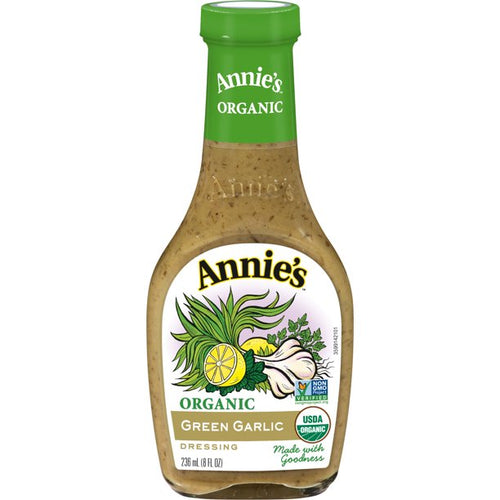 Annie's Organic Green Garlic Dressing 8 oz