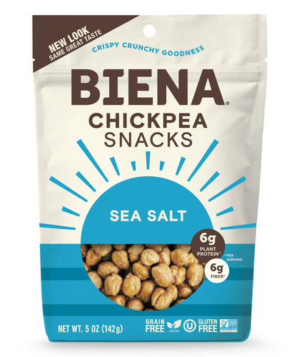 Biena Chickpea Snack Sea Salt 5 oz