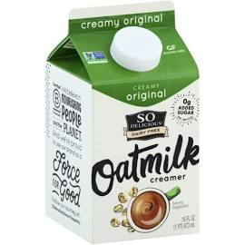 SO Delicious Oat Milk Creamer 16 oz