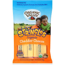 Organic Valley Stringles Cheddar Cheese 6 ct