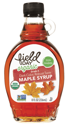 Field Day Organic Grade A Maple Syrup 8 oz