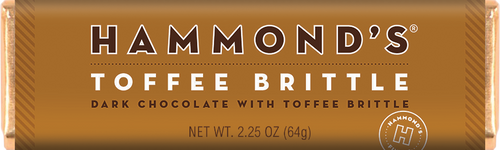 Hammond's Toffee Brittle 2.25 oz
