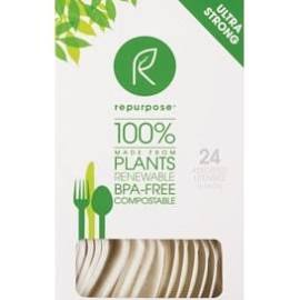 Repurpose Compostable Assorted Utensils 24 ct