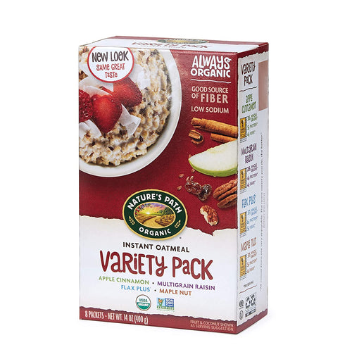 Nature's Path Hot Cereal Variety 8 pk box