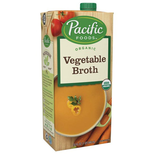 Pacific Natural Organic Vegetable Broth 32 oz