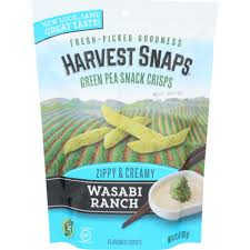 Harvest Snaps Wasabi Ranch 3.3 oz