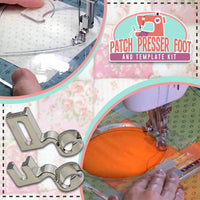 [Limited 50% Off] Patchwork Pressor Foot and Template Kit