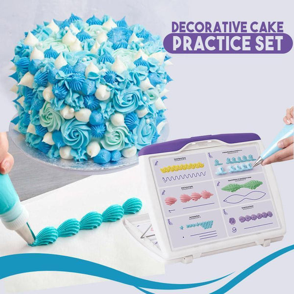 Decorative Cake Practice Set