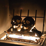 🔥🔥Halloween Hot sale</br>Terrifying human skull fire pit</br>Buy 10 free 10