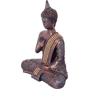 Meditating Blessing Buddha Decorative Statue