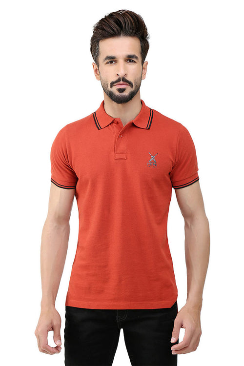 Orange Polo HMKTS190061