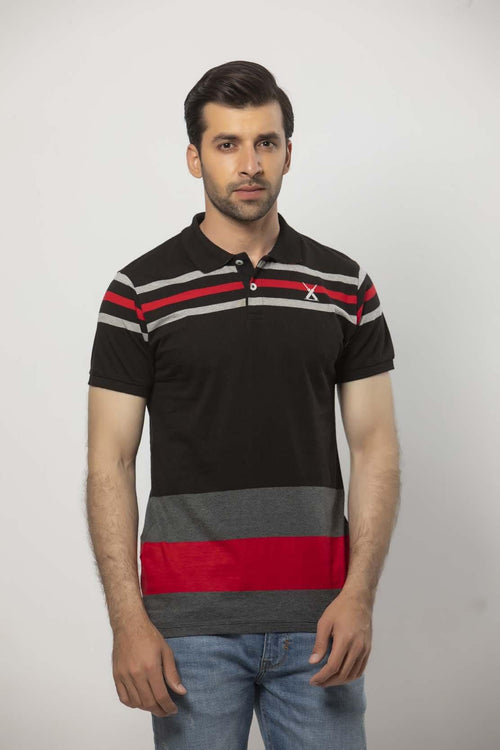 Black Polo Shirt HMKPS20011