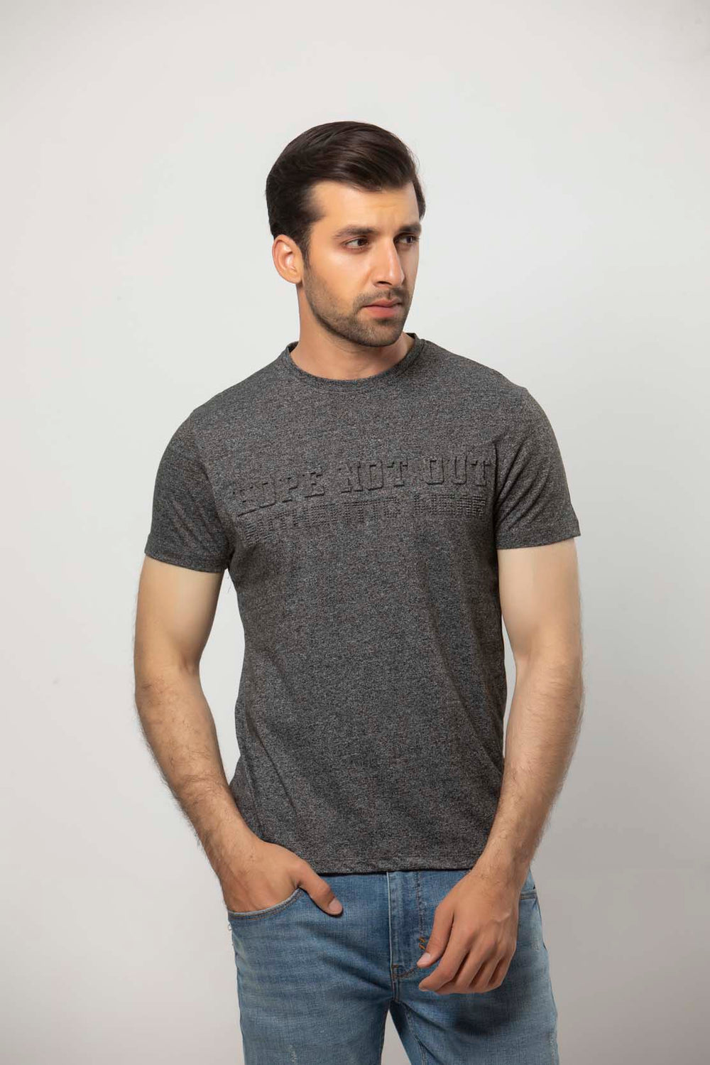Grey T-SHIRT HMKTS20021