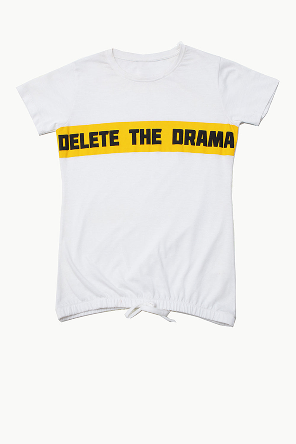 Drama Graphic Tee - HOPE NOT OUT
