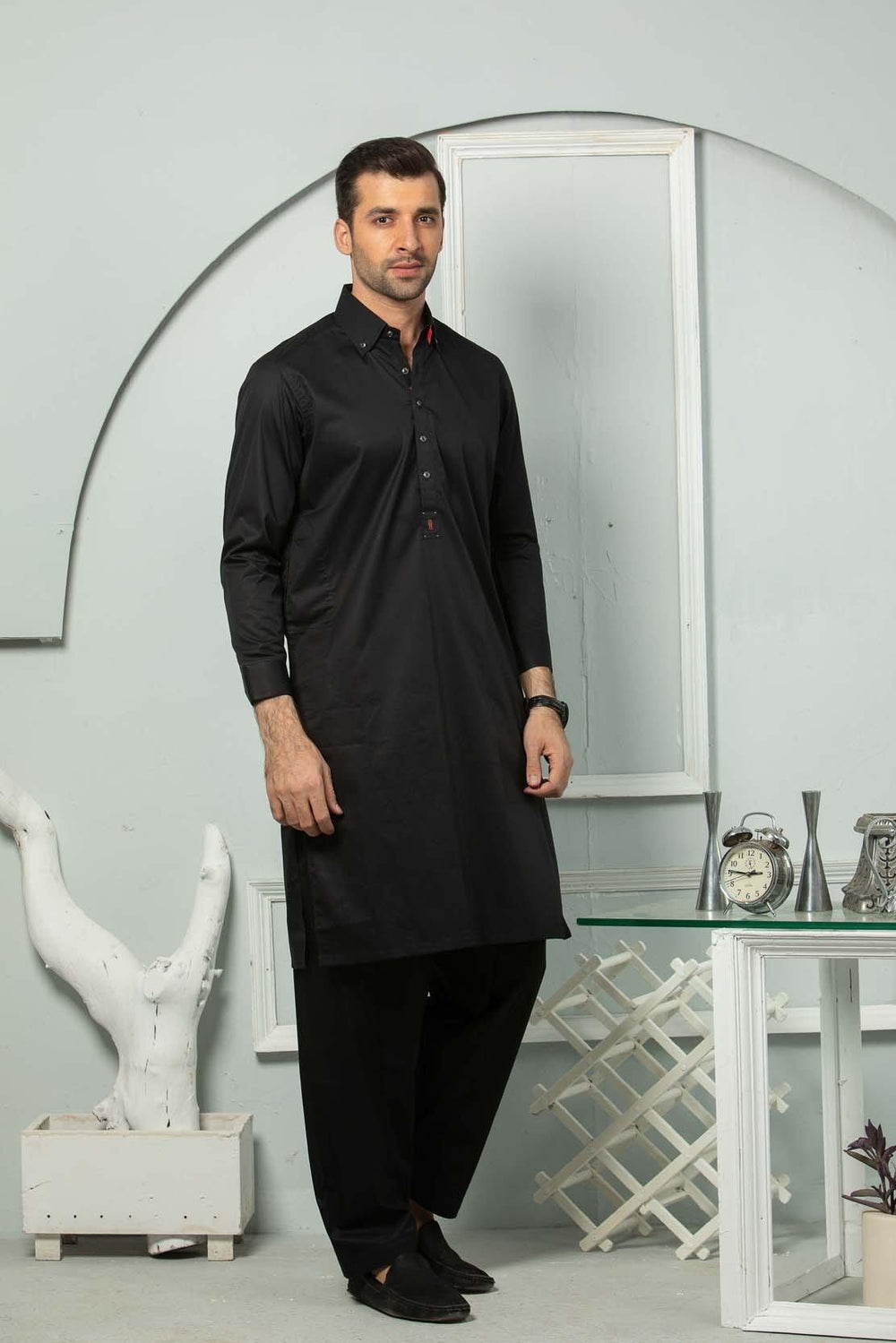 Black Shalwaar Suit AMSSS20006